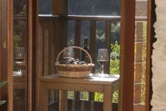 Detalle del balcón Casa As Triegas